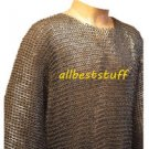 MS Chain Mail Chainmail Shirt Flat Riveted Washer