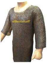 MS Chain Mail Chainmail Shirt Flat Riveted Washar Hauberk