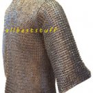 8mm MS Flat Riveted with Flat Washer Chain Mail Shirt SS