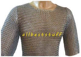 MS Chainmail Butted Shirt with Zinc Coating Chain mail shirt