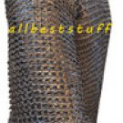 Riveted Chain Mail Shirt Flat Riveted with Flat Washer Hauberk Extra Large