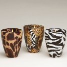 Safari Pattern Vase Candles