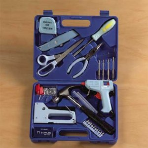 125-Piece Craft Tool Set