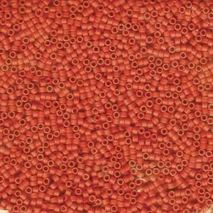 DB795 Miyuki Delica 11o Coral Opaque Matte Seed beads 15gr (SB148)