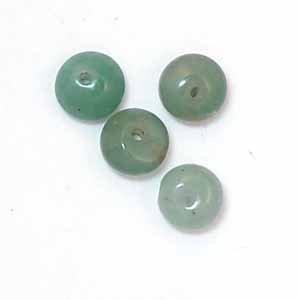 Green Aventurine 8mm Rondelle Beads (GE7)