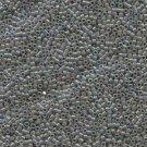 DB168 Miyuki Delica 11o Grey Opaque AB Seed beads 15gr (SB934)