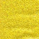 DB160 Miyuki Delica 11o Yellow Opaque AB Seed beads15 gr (SB928)