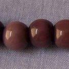 Purple Cats Eye 8mm Round Beads (GL1223)