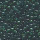 Miyuki Rocailles 6o Green Transparent Seed beads 15gr (SB976)
