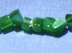Green Cats Eye Chips (GL1075)