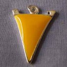 Yellow Pennant Sports Charm (PC545)