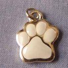 White Paw Mini Sports Charm (PC554)