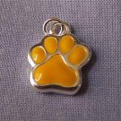 Yellow Paw Mini Sports Charm (PC555)