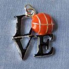 Love Basketball Sports Charm (PC589)