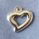 Heart Silver Charm (PC601)