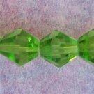 8mm Grass Green Crystal Beads (GL208)