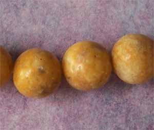 Caramel Mountain Jade 10mm Round Beads (GE1273)