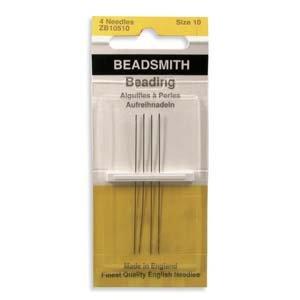 English Beading Needles Size 10 (TO754)