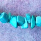 Chalk Turquoise Chips (GE1439)