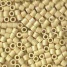 DBL732 Miyuki Delica 8o Cream Opaque Seed beads 15gr (SB970)