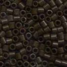 DBL734 Miyuki Delica 8o Chocolate Brown Opaque Seed beads 15gr (SB971)