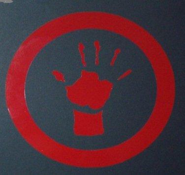 LLTS Hand Logo Sticker