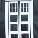 Dr, Who Tardis sticker