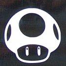 Super Mario Bros. Mushroom sticker