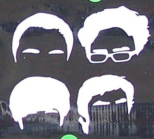 Big Bang Theory Heads