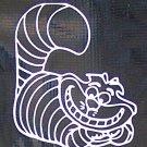 Cheshire Cat Vinyl Decal
