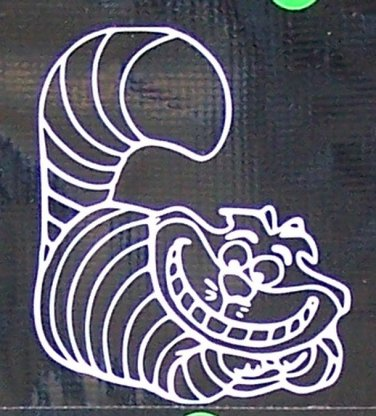 Cheshire Cat Vinyl Decal