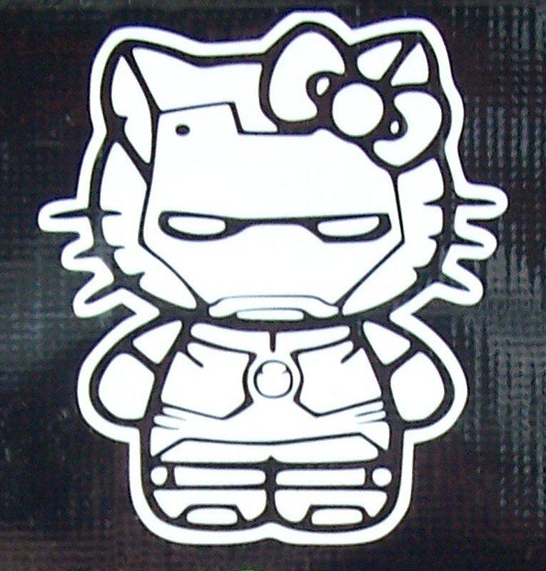 Hello Kitty Iron Man