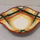 Metlox Vernonware Homespun Pattern lugged chowder cereal bowls 2 Available