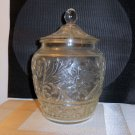 Tiara Glass Company Sandwich Glass Pattern Cookie Jar