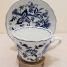 Blue Danube  Cup & Saucer Set of 4 Japan  1951-2000
