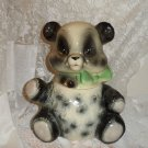 1957 Brush McCoy Pottery Panda Bear Cookie Jar Marked W21 Brush