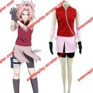 Naruto Cosplay Costume- Haruno Sakura 2nd Deluxe Cosplay Costume