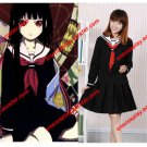 Japan Anime Hell Girl Cosplay Costumes Enma Ai Women Uniforms Clothes for Halloween