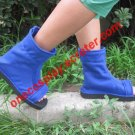 Naruto Shippuden Sasuke Shoes Blue Cosplay Shoes