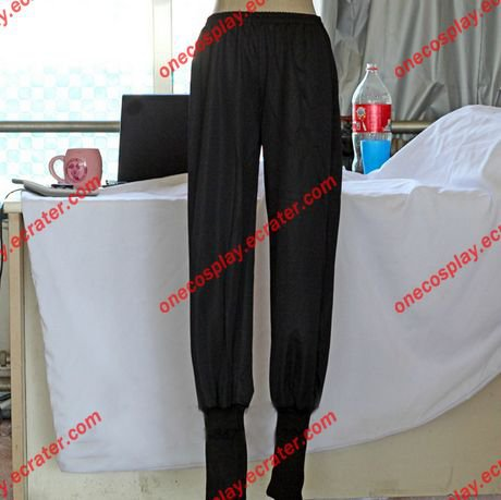 Naruto Cosplay-- Naruto Akatsuki Cosplay Trousers Black Ninja Pants