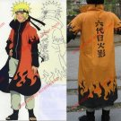 Amime Naruto Cosplay Costume- Naruto Uzumaki 6th Hokage Cosplay Costume (Cloak)