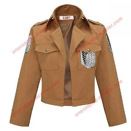 New Shingeki no Kyojin Attack on Titan Scouting Legion Cosplay costume Survey Corps Jacket