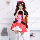 Love Live! School idol project Dress Yazawa Nico Catwoman Halloween Cosplay Costumes Devil Clothes