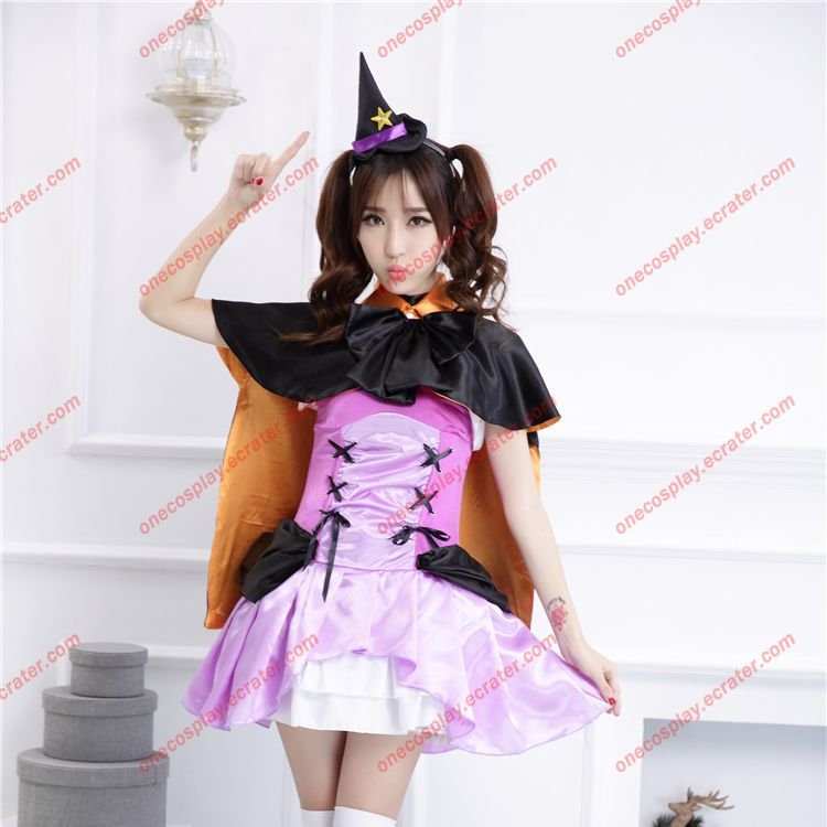 Love Live! School idol project Dress Nozomi Tojo Catwoman Halloween Cosplay Costumes Devil Clothes
