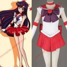 Anime Sailor Moon Cosplay Costume Hino Rei Soldier Clothes(in stock / customized)