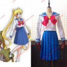 Sailor Moon Cosplay Costume Sailor Suit Tsukino Usagi School Uniform (in stock / customized)