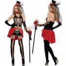 Dead Festival Cosplay Costumes Skeleton Demon Fancy Dress Witch Vampire Women Clothes for Halloween
