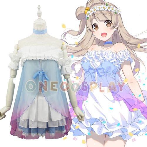 Anime Love Live! (The First Taste ) Lovelive Yume no Tobira Kotori Minami Cosplay Costume Dress
