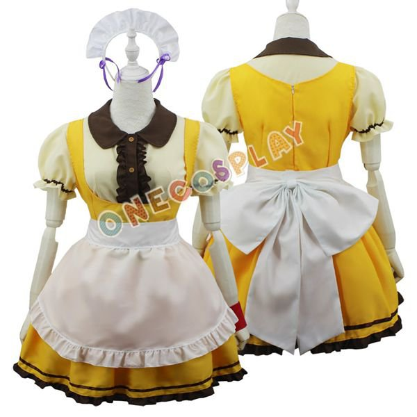 Love live! Ayase Eli Cosplay Costumes Minami Kotori Baker Pastry Cook Maid Dress Rin Fancy Uniform