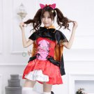Love Live! School idol project Dress  Yazawa Nico Devil Clothes Catwoman Halloween Cosplay Costumes